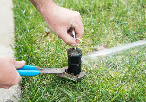 Sprinkler Repair in Hesperia
